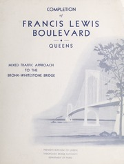 Completion of Francis Lewis...