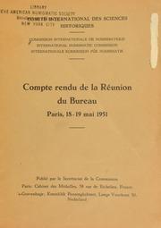Compte rendu 1 (1951)