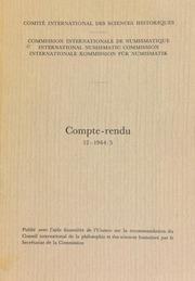 Compte-rendu 12 (1964-1965)