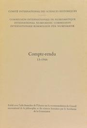 Compte-rendu 13 (1966)