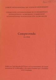 Compte-rendu 15 (1968)