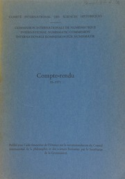 Compte-rendu 18 (1971)