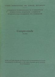 Compte-rendu 19 (1972)