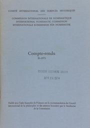 Compte-rendu 20 (1973)