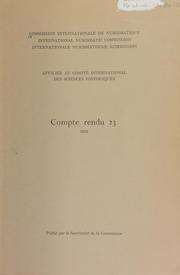 Compte rendu 23 (1976)