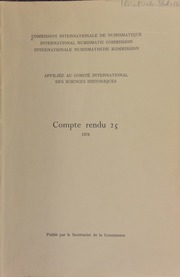 Compte rendu 25 (1978)