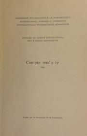 Compte rendu 27 (1980)