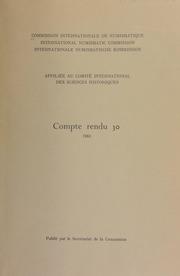Compte rendu 30 (1983)