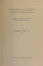 Compte rendu 31 (1984)