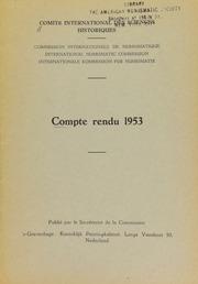 Compte rendu 3 (1953)