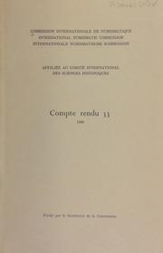 Compte rendu 33 (1986)