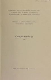 Compte rendu 35 (1988)