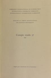 Compte rendu 37 (1990)