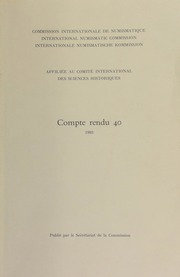 Compte rendu 40 (1993)