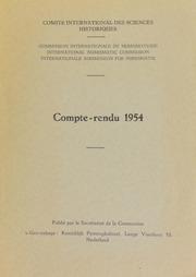 Compte-rendu 4 (1954)