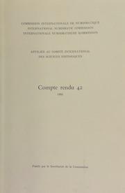 Compte rendu 42 (1995)