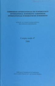 Compte rendu 47 (2000)