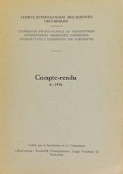 Compte-rendu 6 (1956)