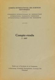 Compte-rendu 7 (1957)