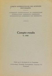 Compte-rendu 8 (1958)