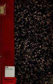 Compte rendu de l'assemblée générale des membres de la société du dimanche 17 mai 1874