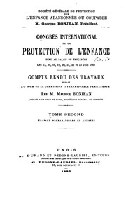 Compte-rendu des travaux: Publié au nom de la Commission internationale permanenfe