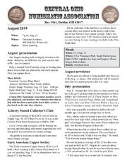 CONA Newsletter (August 2019)