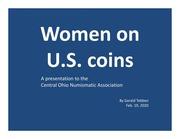 Women on U.S. Coins