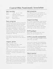 CONA Monthly Bulletin: July 2009