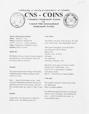 CNS/COINS Monthly Bulletin: March 2006