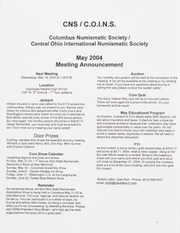 CNS/COINS Monthly Bulletin: May 2004