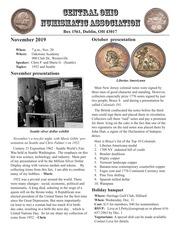 CONA Newsletter (November 2019)