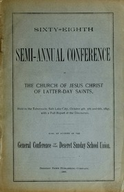 Music from October 1897 General Conference (1897)