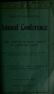 Music from April 1898 General Conference (1898)