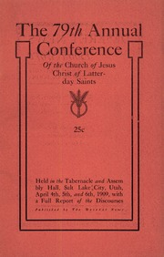 Music from April 1909 General Conference (1909)
