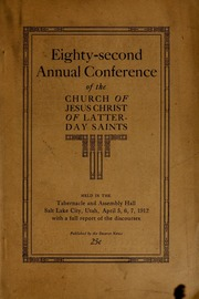Music from April 1912 General Conference (1912)