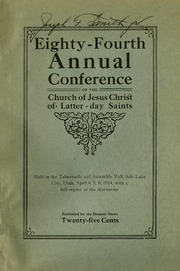Music from April 1914 General Conference (1914)