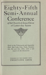 Music from October 1914 General Conference (1914)