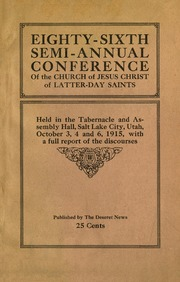Music from October 1915 General Conference (1915)