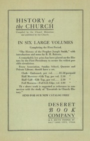 Music from April 1922 General Conference (1922)
