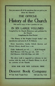 Music from October 1924 General Conference (1924)