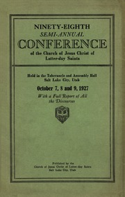 Music from October 1927 General Conference (1927)