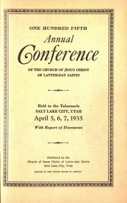 Music from April 1935 General Conference (1935)