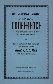 Music from April 1942 General Conference (1942)