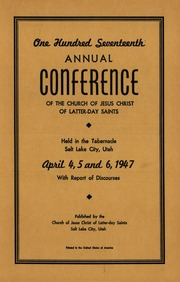 Music from April 1947 General Conference (1947)