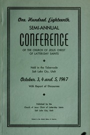 Music from October 1947 General Conference (1947)