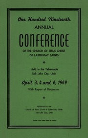 Music from April 1949 General Conference (1949)
