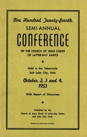 Music from October 1953 General Conference (1953)