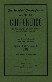 Music from April 1954 General Conference (1954)