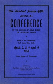 Music from April 1955 General Conference (1955)